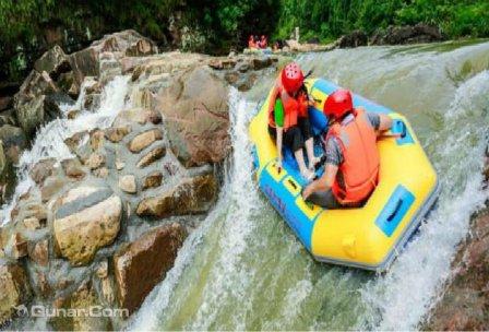 忠县东溪河生态漂流